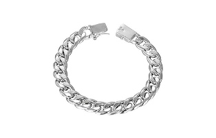 Lillian 925 Sterling Silver-Plated Bracelet - $17.00 with Free Shipping!