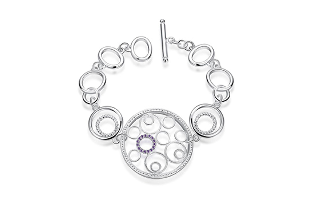 Julia 925 Sterling Silver Plated Bracelet - $19.00 with FREE Shipping!