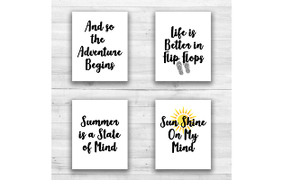Summer Wall Prints - 8