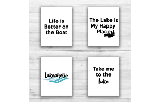 Lake Wall Prints - 8